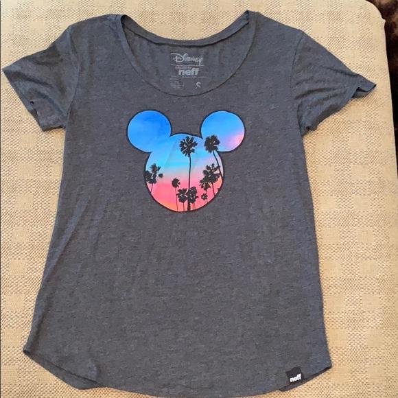 Neff Tops - Disney Neff Mickey Mouse tee